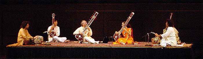 La musique classique Indienne Anoushka-stage